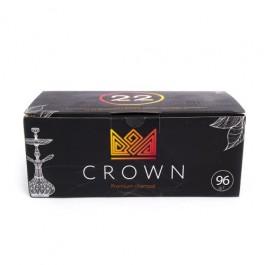 Уголь кокосовый Crown 1 кг (96шт)